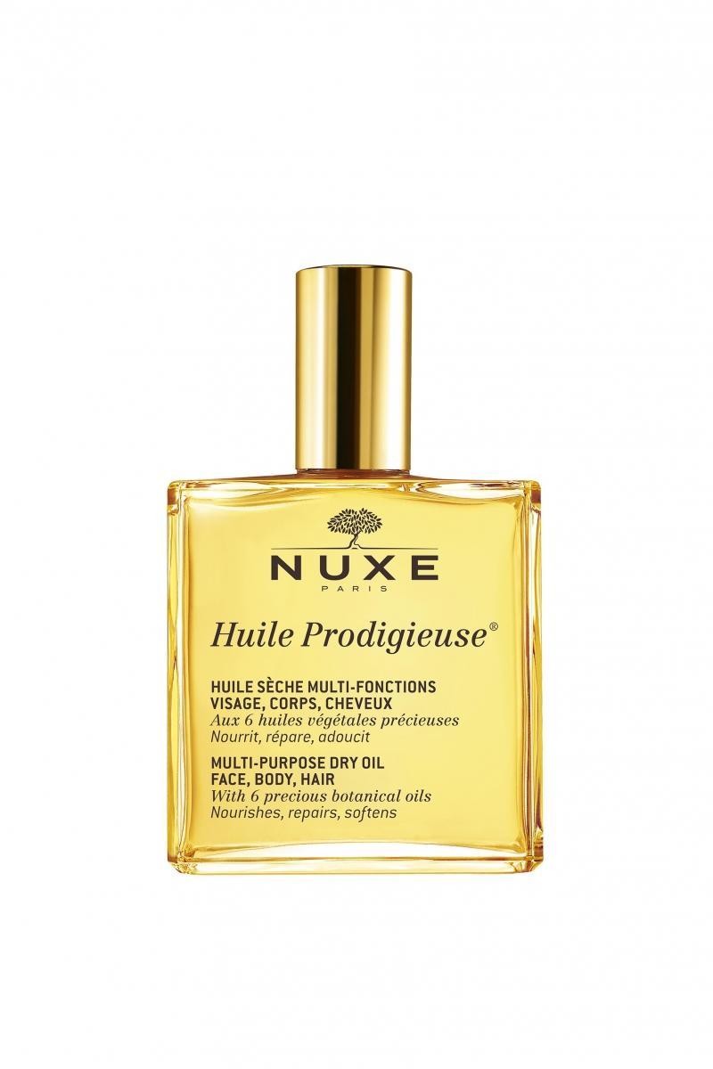 Nuxe Продижьёз Сухое масло для лица, тела и волос Новая формула, 100 мл (Nuxe, Prodigieuse) nuxe prodigieuse крем для лица