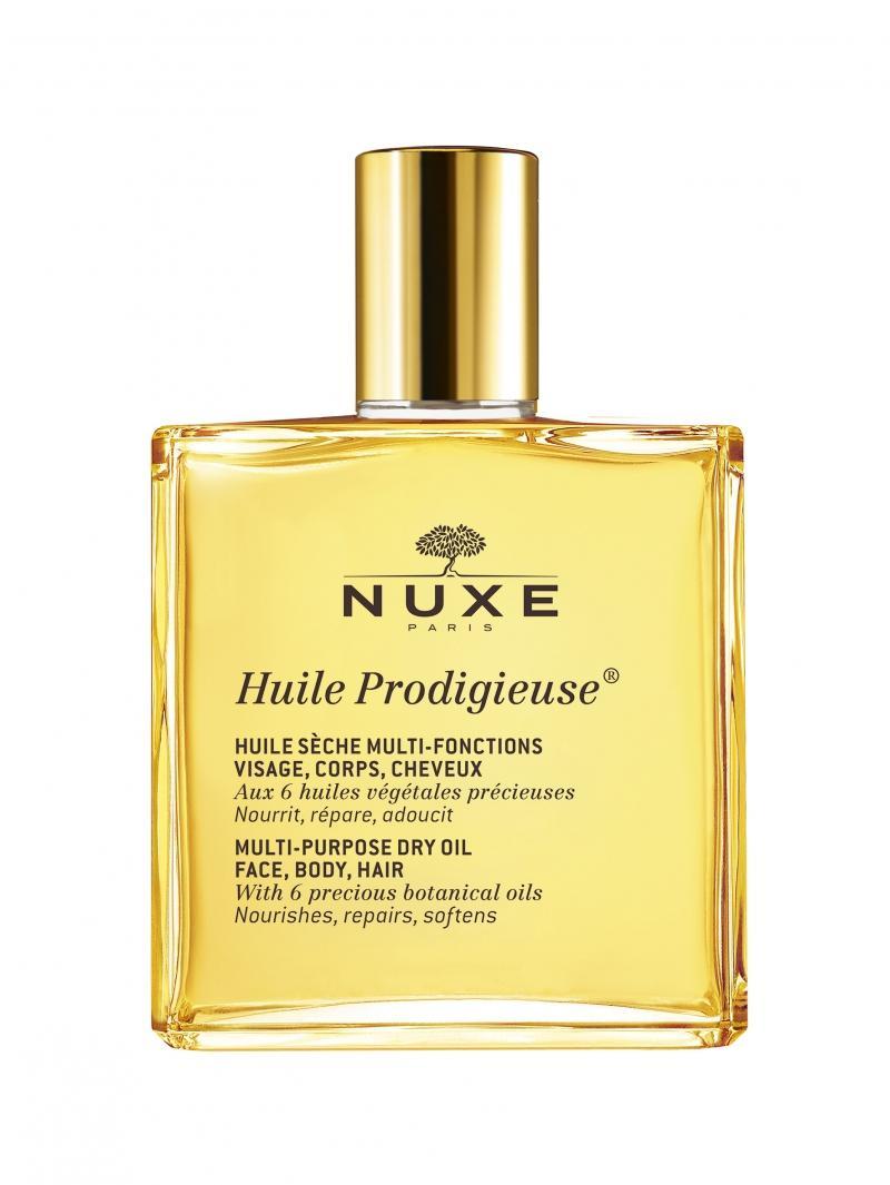 Продижьёз Сухое масло для лица, тела и волос Новая формула, 50 мл (Nuxe, Prodigieuse) nuxe масло сухое золотое