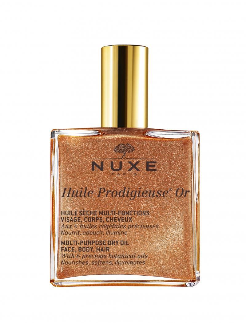 Продижьёз Золотое масло для лица, тела и волос Новая формула, 50 мл (Nuxe, Prodigieuse) золотое масло для тела melvita купить