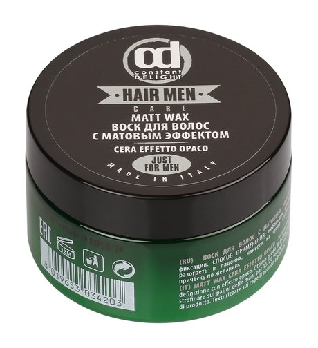 Купить Constant Delight Воск для волос с матовым эффектом 100 мл (Constant Delight, Barber), Италия