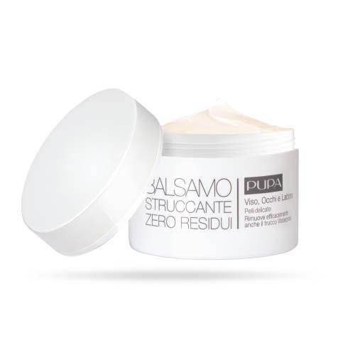 Pupa Бальзам для удаления макияжа для чувствительной кожи Zero Residue Make-Up Removing Balm, 100 мл (Pupa, Лицо)