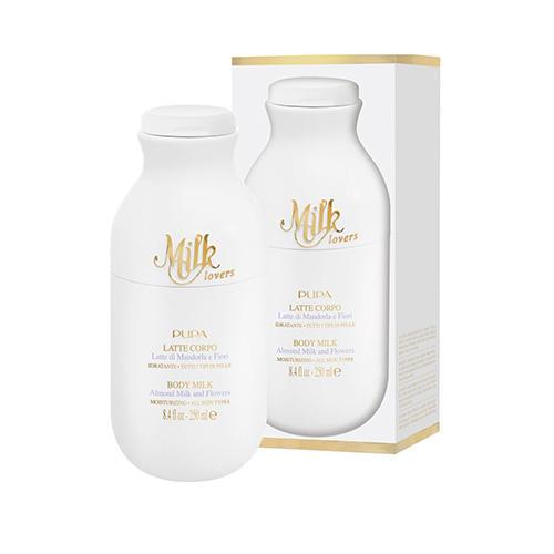 Молочко для тела Milk Lovers Миндальное молочко и цветы, 250 мл (Pupa, Для ванны и тела) pupa гель скраб для душа milk lovers овсяное молочко и ваниль 250 мл