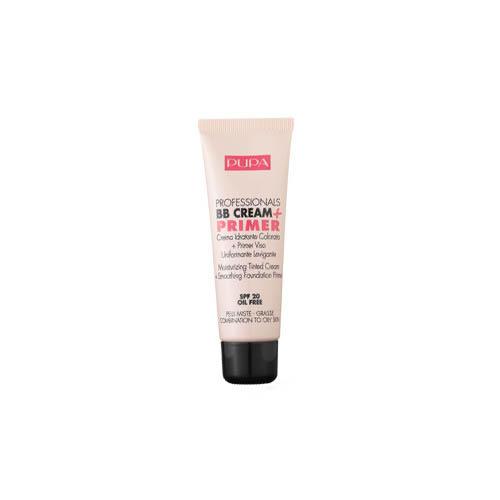 Тональный BB крем для жирной кожи (Pupa, Лицо) bb крем для лица основа под макияж pupa professionals bb cream primer bb 50 мл для комбинированной и жирной кожи тон 002