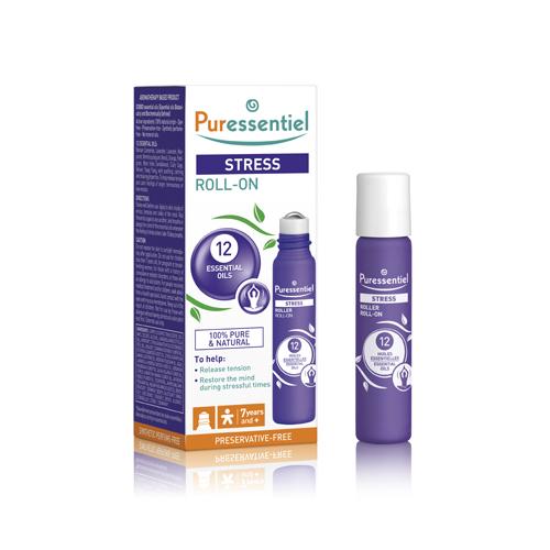 Купить Puressentiel Роллер Антистресс 12 эфирных масел , 5 мл (Puressentiel, Отдых и Релакс), Франция