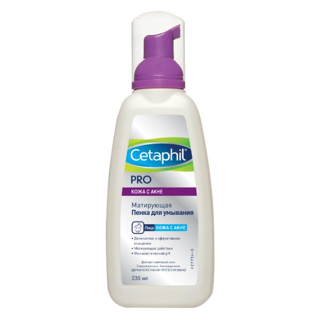 Cetaphil Пенка для умывания Dermacontrol 236 мл (Cetaphil, Dermacontrol) cetaphil dermacontrol oil control moisturizer spf 30