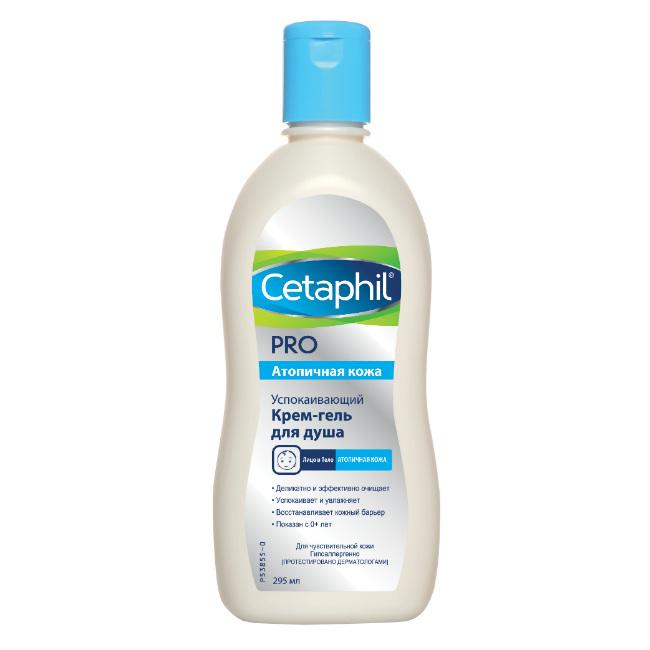 Купить Cetaphil Успокаивающий крем-гель для душа 295мл (Cetaphil, Restoraderm), США