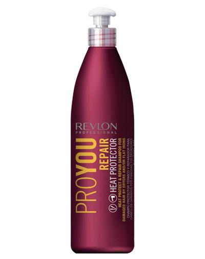 Pro You Repair Heat Protector Shampoo Шампунь термозащитный восстанавливающий 350 мл (Revlon Professional, ProYou) шампунь для волос увлажняющий и питательный proyou nutritive shampoo 350мл revlon professional proyou