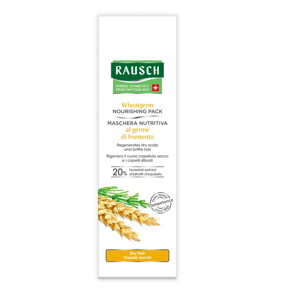 Купить Rausch Питательная маска с экстрактом зародышей пшеницы, 100 мл (Rausch, Для сухих волос)
