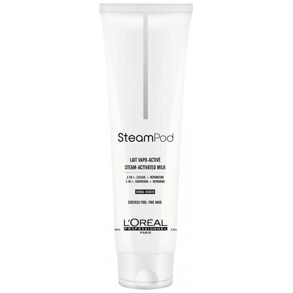 Loreal Professionnel Крем-уход восстанавливающий Steampod для тонких волос, 150 мл (Loreal Professionnel, Стайлинг) фото