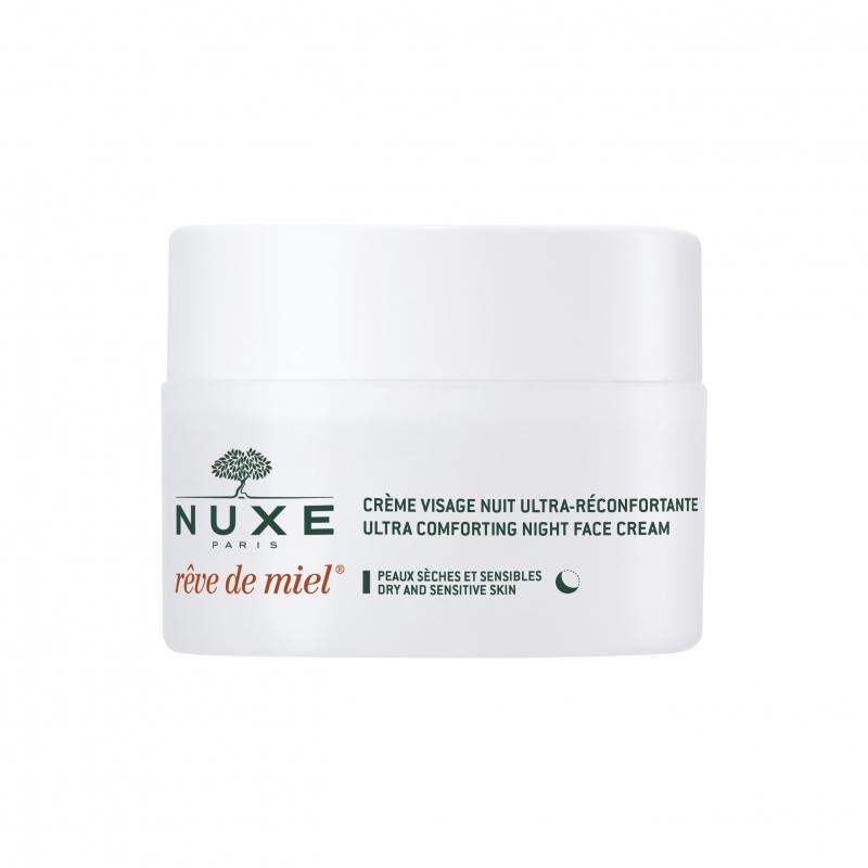 Рэв Де Мьель Ночной крем для лица, восстанавливающий комфорт 50мл (Nuxe, Reve De Miel) ахромин ночной крем для лица отбеливающий для сухой и чувствительной кожи 50мл