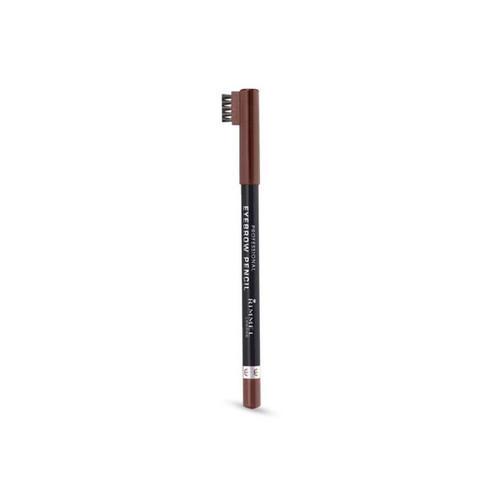 Карандаш для бровей со щеточкой Professional Eyebrow Pencil Repack 1 шт (Rimmel, Для бровей) недорого