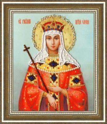 РТ125 Икона Святой Равноапостольной Царицы Елены.Рисунок на ткани (Золотое Руно, Золотое Руно)