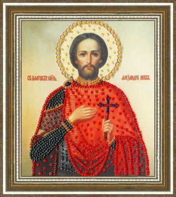 РТ126 Икона Святого Благоверного Великого Князя Александра Невского.Рисунок на ткани (Золотое Руно, Золотое Руно) цены