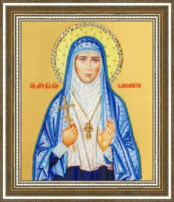 РТ128 Икона Святой Мученицы Великой Княгини Елизаветы.Рисунок на ткани (Золотое Руно, Золотое Руно)