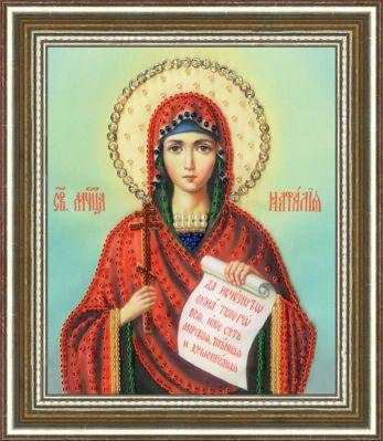 РТ134 Икона Святой Мученицы Натальи. Рисунок на ткани (Золотое Руно, Золотое Руно)
