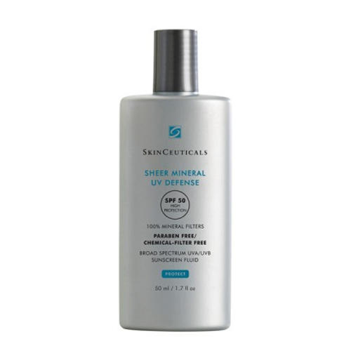 Солнцезащитное минеральное средство Sheer Mineral UV Defense SPF 50 (SkinCeuticals, Защита от солнца) mini uv torch portable usb rechargeable uv flashlight white light