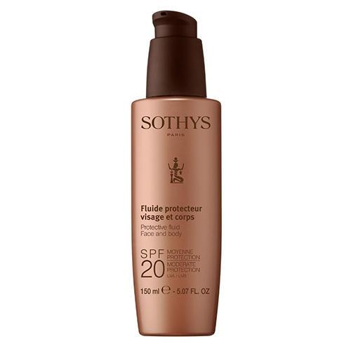 Sothys Молочко с SPF20 для лица и тела, 150 мл (Sothys, Sun Care) sothys молочко с spf20 для лица и тела 150 мл