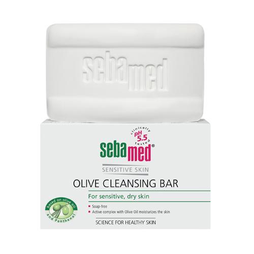 Sebamed Мыло для лица оливковое Sensitive Skin olive cleansing bar 150 гр. (Sebamed, Sensitive Skin)