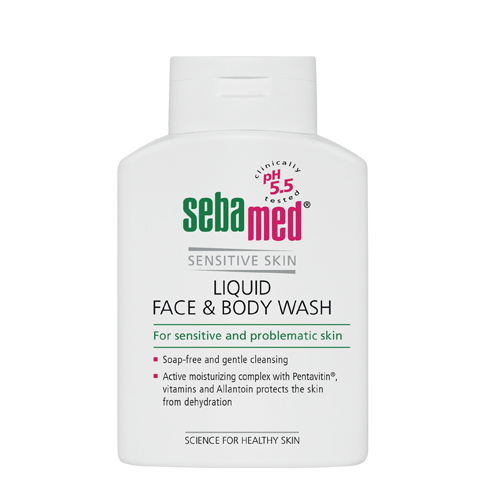 Sebamed Гель для лица и тела очищающий Sensitive Skin iquid face and body wash 200 мл (Sebamed, Sensitive Skin) фото