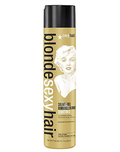 Sexy Hair Кондиционер для сохранения цвета без сульфатов 300 мл (Sexy Hair, Blonde Hair)