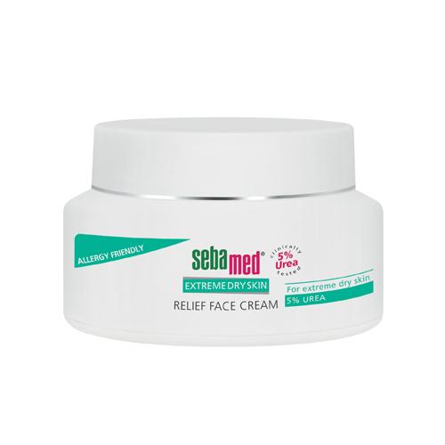 Sebamed Крем для лица Extreme Dry Skin Relief face cream 5 % urea 50 мл (Sebamed, Extreme Dry Skin)