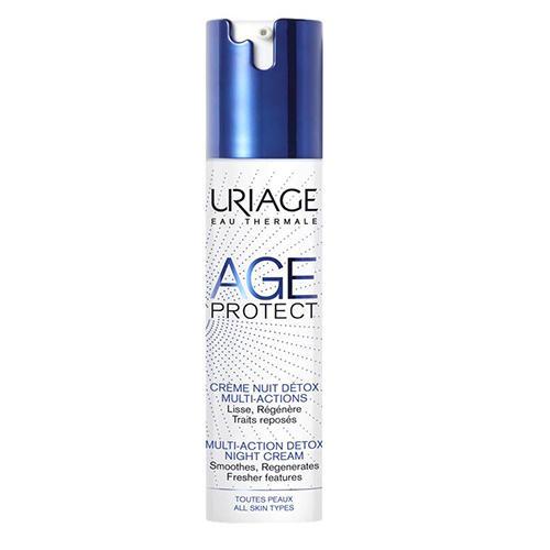 Купить Uriage Эйдж Протект Крем-детокс многофункциональный ночной 40 мл (Uriage, Age Protect), Франция