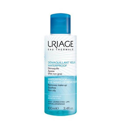 Средство для снятия водостойкого макияжа с глаз 100 мл (Uriage, Гигиена Uriage) korff средство двухфазное для снятия макияжа 150 мл