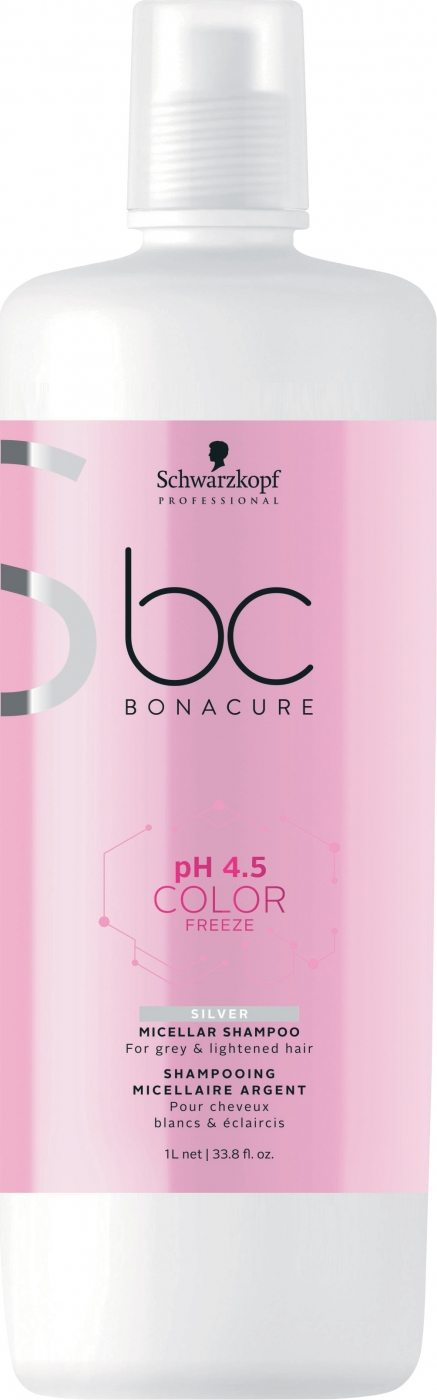 Schwarzkopf Professional BC pH 4.5 Color Freeze Нейтрализуюший шампунь, 1000 мл (Schwarzkopf Professional, BC Bonacure) блеск спрейкондиционер золотое сияние 100мл schwarzkopf professional bc bonacure