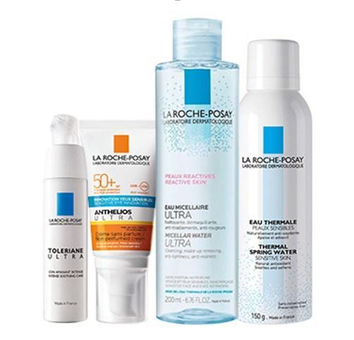 La Roche-Posay Набор продуктов для чувствительной кожи ( крем 50 мл, термальная вода 150 мл, крем 40 мл, мицеллярная вода 200 мл) (La Roche-Posay, Anthelios) фото