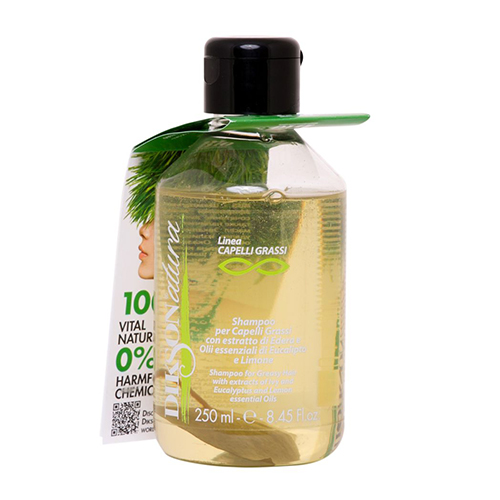 Dikson Шампунь с лимоном для жирных воло Shampoo-greasy hairс, 250 мл (Dikson, DIKSONATURA) dikson grassi шампунь с лимоном для жирных волос 250 мл
