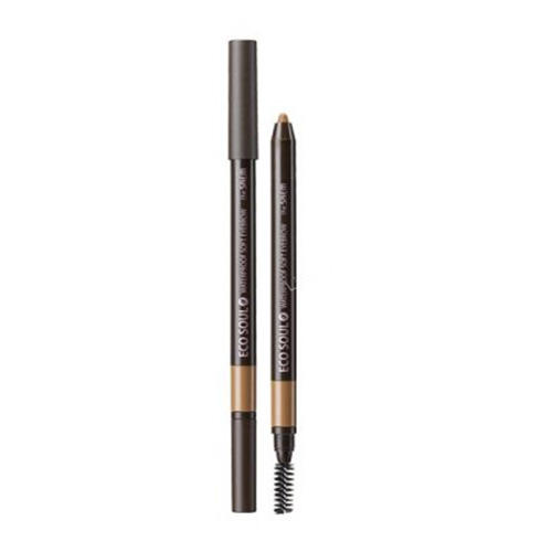 Карандаш для бровей мягкий Eco Soul Waterproof Soft Eyebrow, 0.5 г (The Saem, Eye)