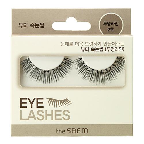 цена Накладные ресницы Eyelash Clear Line 2 (The Saem, Eyelash) онлайн в 2017 году