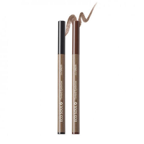 Тинткисть для бровей Eco Soul Tinted Eyebrow, 0,8 мл (The Saem, Eye)