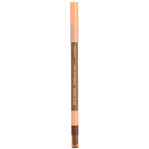 Карандаш лайнертени для век Eco Soul Shadow Liner, 0,5 г (The Saem, Eye) набор кистей для теней the saem shadow tips