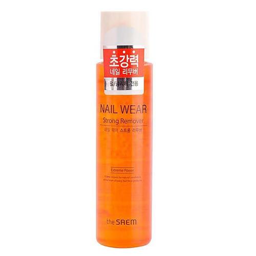 Жидкость для снятия лака Nail Wear Strong Remover, 150 мл (The Saem, Nail)
