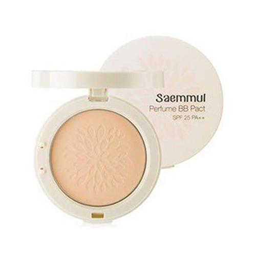 Пудра компактная ароматизированная Sammul Perfume BB Pact SPF25 PA, 20 г (The Saem, Saemmul) blood pact