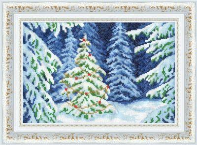 СО013 Сказочная поляна. С Рождеством (Золотое Руно, Золотое Руно) золотое платье