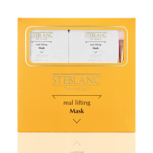 Steblanc Лифтинг-маска для лица Эликсир молодости 7 мл х 8 шт (Gold Perfection)