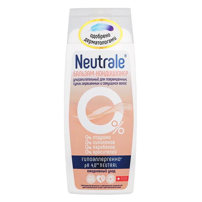 Купить Neutrale Бальзам-кондиционер ультрапитательный для поврежденных, сухих, окрашенных и секущихся волос, 250 мл (Neutrale, Для тела и волос)