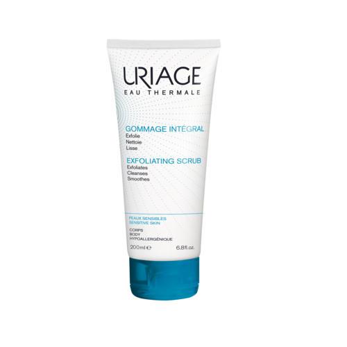 Гоммаж-Интеграль мягкий гель-эксфолиант для лица и тела 200мл (Гигиена Uriage)