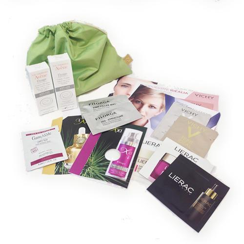 Бьютибокс уход против старения кожи () косметика виши для молодой кожи