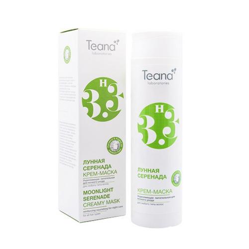 Укрепляющая питательная крем-маска для ночного ухода Лунная серенада 250 мл (Косметика для волос) (Teana)