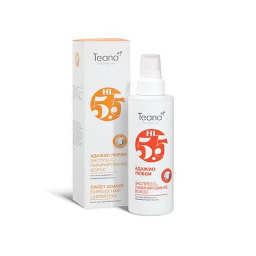 Teana Спрей для экспресс-ламинирования с Аминокислотами Адажио любви 125 мл (Косметика для волос)