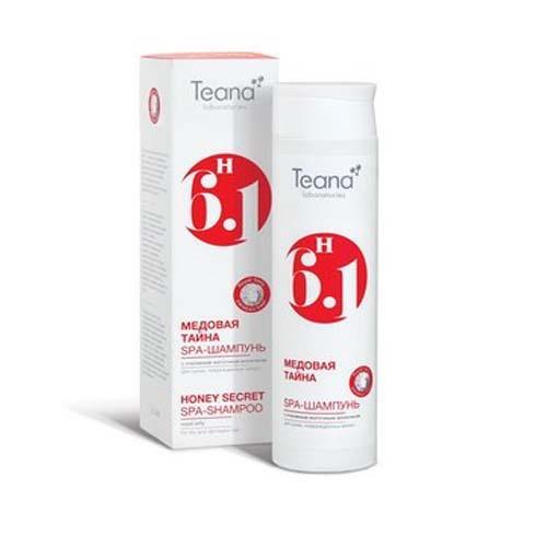 СПА-шампунь с пчелиным маточным молочком Медовая тайна  250 мл (Косметика для волос) (Teana)