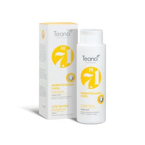 Серный шампунь для восстановления баланса кожного покрова головы Живительная сила 125 мл (Косметика для волос) (Teana)