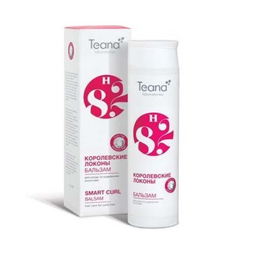 Teana Шампунь для ухода за кудрявыми волосами Сверкающая волна 250 мл (Косметика для волос)