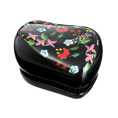 Расческа Embroidered Floral черный (Tangle Teezer, Compact Styler) floral embroidered longline coat