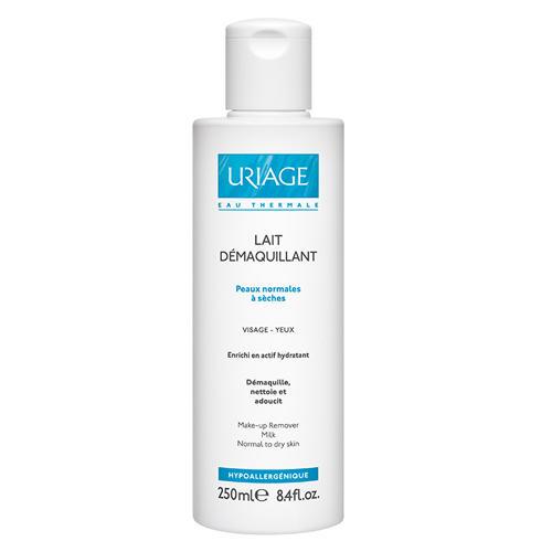 Очищающее молочко для сухой и чувствительной кожи лица и контура глаз (Uriage, Гигиена Uriage) молочко uriage молочко автобронзант