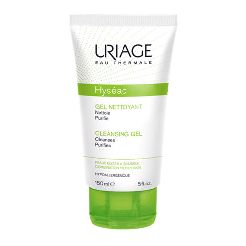 Мягкий очищающий гель Исеак 150 мл (Uriage, Hyseac) uriage мусс очищающий 150 мл
