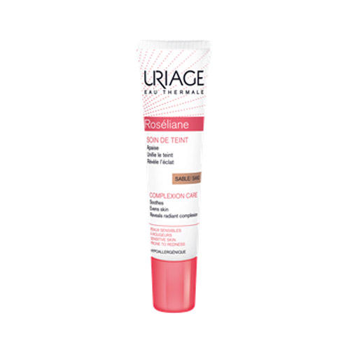 Розельян Тональный уход натуральный песочный 15 мл (Uriage, Roseliane) урьяж розельян крем